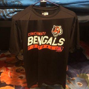 Cincinnati Bengals Dri/Cool fit tee